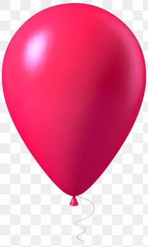 Pink Balloon Transparent Image - Balloon Pink Clip Art PNG