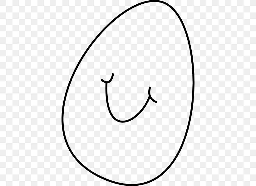 Easter Bunny Smile Easter Egg Clip Art, PNG, 426x597px, Easter Bunny, Area, Black, Black And White, Crescent Download Free
