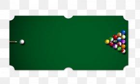 Billiard Table - English Billiards Billiard Table Eight-ball PNG