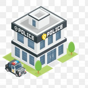 Cartoon Police - Police Station Police Officer Clip Art PNG