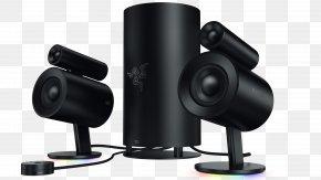 Computer Speakers, Rear Bass Ports For Full Razer Inc. Loudspeaker 2.0 PC Speaker Corded Razer Nommo 2.0 Computer MouseComputer Mouse - Razer Nommo Chroma PNG
