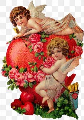 Postcard - Valentine's Day Love Vinegar Valentines Cupid Greeting & Note Cards PNG