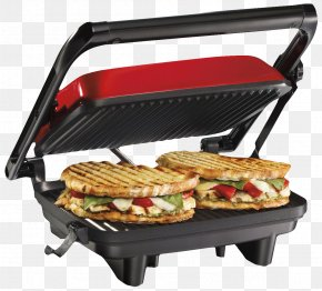 Sandwich Maker And Grill - Barbecue Panini Grilling Small Appliance Pie Iron PNG