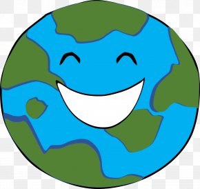 Earth Vector - Earth Happiness Smile Clip Art PNG