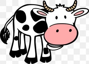 Picture Of A Cow - Cattle Free Content Calf Clip Art PNG