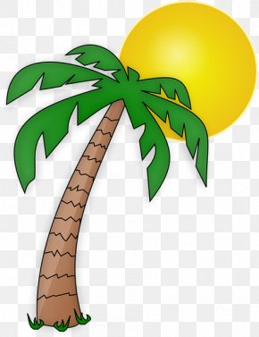 Summer Holidays Palm Tree - Clip Art Transparency Palm Trees Openclipart PNG