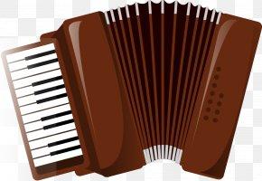 Accordion - Diatonic Button Accordion Piano Musical Keyboard PNG