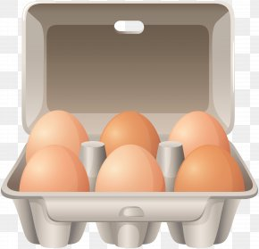 Eggs In B Ox Clip Art Image - Fried Chicken Egg Carton Clip Art PNG