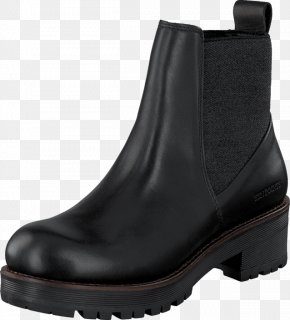 Black Leather Size: 3 UK BotinaBoot - Shoe Chelsea Boot Clarks Taylor Shine PNG