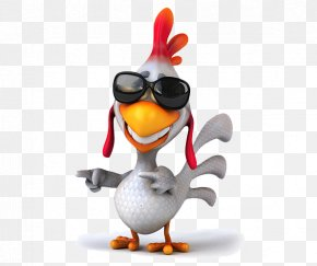 Chicken Wearing Sunglasses - Chicken Meat Stock Photography Stock Illustration Royalty-free PNG