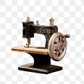 Vintage Sewing Machine - Sewing Machine PNG