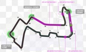 Mclaren - Marina Bay Street Circuit 2018 FIA Formula One World Championship Autodromo Nazionale Monza McLaren 2018 Singapore Grand Prix PNG