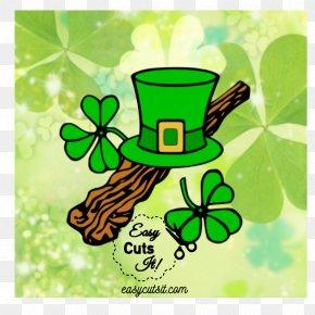 Saint Patrick's Day - Saint Patrick's Day Shamrock Leprechaun Clip Art PNG