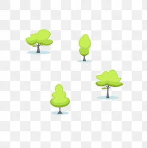 Cartoon Tree - Cartoon Elements, Hong Kong Download Illustration PNG