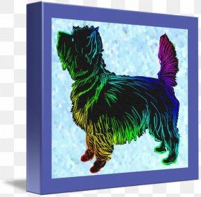 Cairn Terrier - Cairn Terrier Dog Breed Art PNG