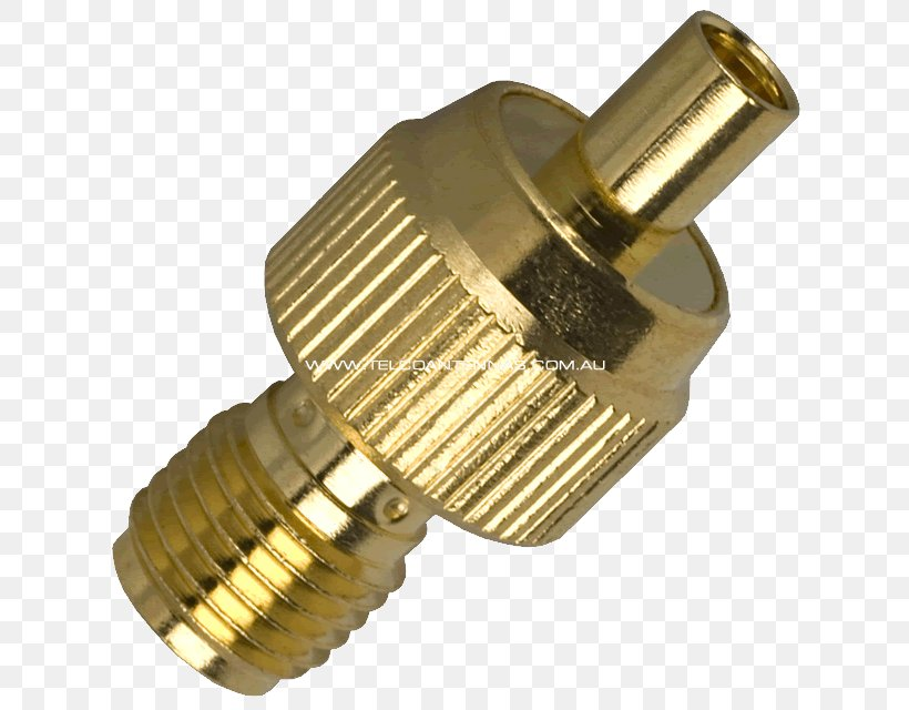 SMA Connector Aerials Electrical Connector MCX Connector Coaxial, PNG, 640x640px, Sma Connector, Adapter, Aerials, Brass, Coaxial Download Free