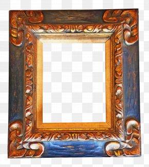 Carving Antique - Background Black Frame PNG