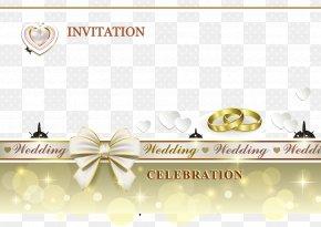 White Heart-shaped Wedding Invitations Templates - Wedding Invitation Icon PNG
