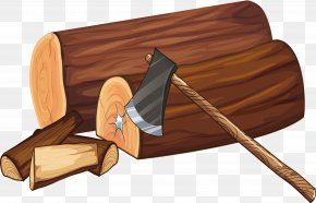 Axe Wood - Wood Material Axe PNG