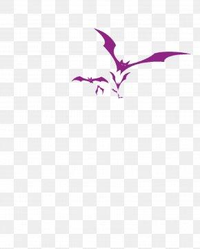 Purple Bat - Bat Wing Development Bat Wing Development Icon PNG