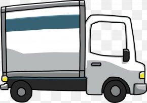 Truck Cliparts - Mover Pickup Truck Van Car Clip Art PNG