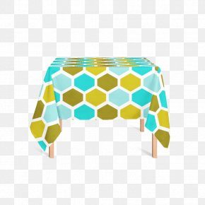 Rectangle Tablecloth Yellow Product Design PNG
