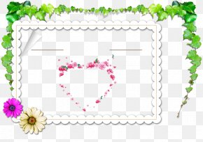 Wedding - Wedding Invitation Picture Frame Marriage Convite PNG