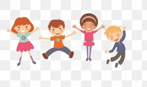 Happy Kids Cartoon Pictures - Child Royalty-free Joke Illustration PNG