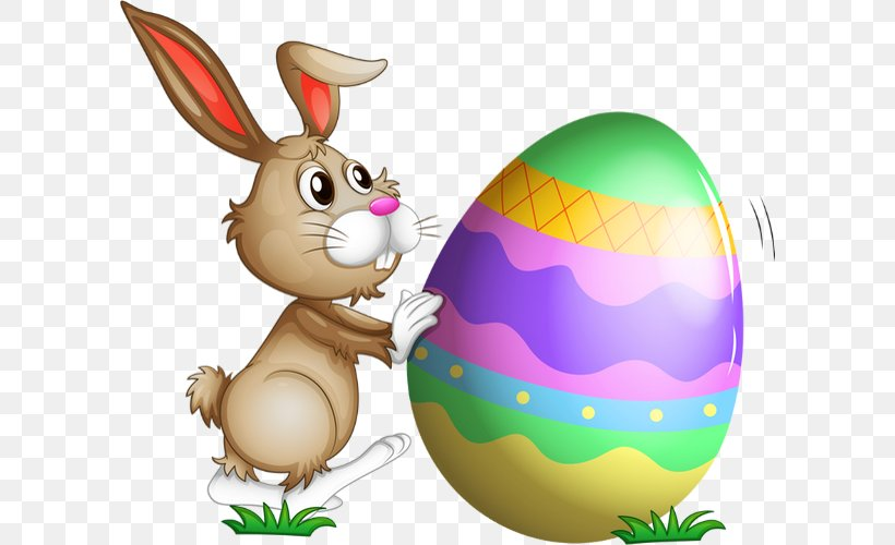 Easter Bunny Drawing Resurrection Of Jesus Clip Art, PNG, 600x500px, Easter Bunny, Animaatio, Cartoon, Domestic Rabbit, Drawing Download Free