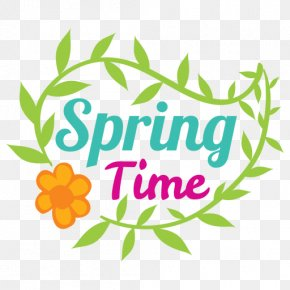 Hello Spring Cartoon - Clip Art Spring Image Transparency PNG