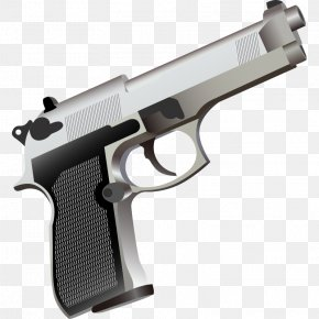 Weapon Weapon - Handgun Clip Art PNG