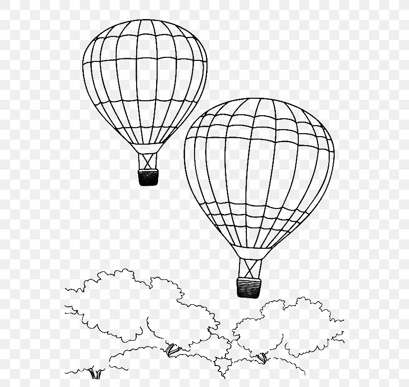 Hot Air Balloon Coloring Pages Free Printable - Coloring Home | 776x820