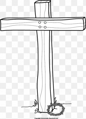 The Cross Clipart - Jesus Is Risen! Christian Cross Clip Art PNG
