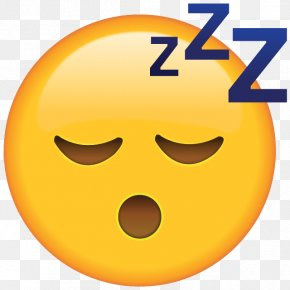 Emoji - Emoji Sleep Sticker Text Messaging Emoticon PNG