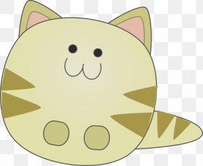 Cute Cartoon Cat Pictures - Cat Kitten Cartoon Clip Art PNG
