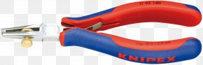 Pliers - Hand Tool Wire Stripper Knipex Pliers PNG