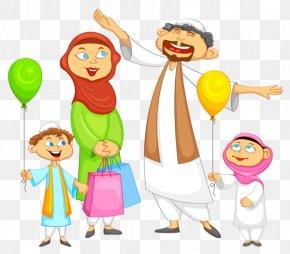 Eid Mubarak - Eid Al-Fitr Muslim Eid Mubarak Islam Clip Art PNG