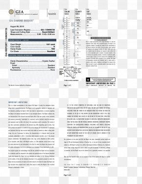 Gemological Institute Of America - Gemological Institute Of America Earring Diamond Clarity Carat PNG