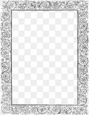 Gray Border Frame Photos - Picture Frame Clip Art PNG