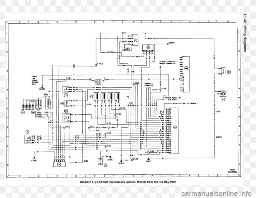 ford sierra ford escort floor plan wiring diagram png