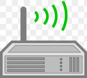 Wire Internet Cliparts - Wireless Router Wi-Fi Clip Art PNG