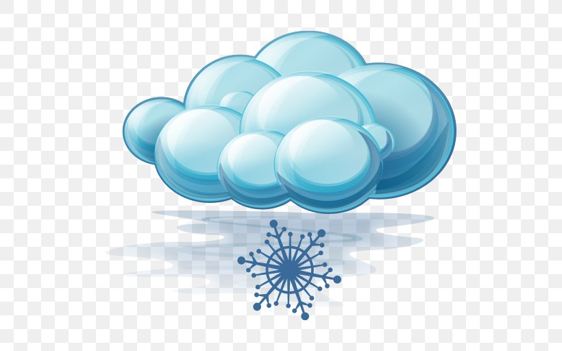 Weather Forecasting Snow Icon, PNG, 512x512px, Weather, Aqua, Azure, Blue, Cloud Download Free