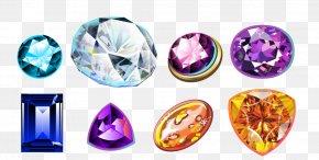 All Kinds Of Diamond Jewelry - Crystal Diamond Gemstone Jewelry Design PNG
