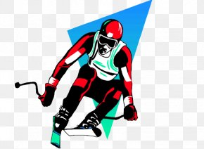Professional Athletes Skiing - Skiing Sport Athlete Football Pitch PNG
