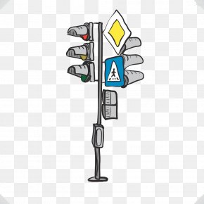 Hand-painted Traffic Lights - Traffic Light Drawing Photography Illustration PNG