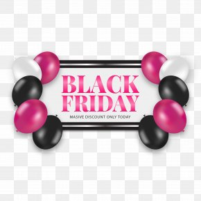 Black Friday Banner Vector Background - Adobe Illustrator Web Banner Icon PNG