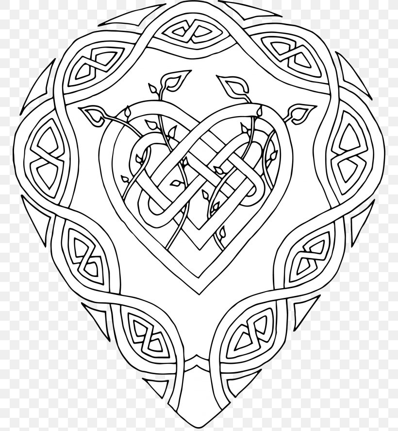 Coloring Book Mandala Celtic Patterns To Colour Coloring Pages For Girls, PNG, 768x887px, Watercolor, Cartoon, Flower, Frame, Heart Download Free