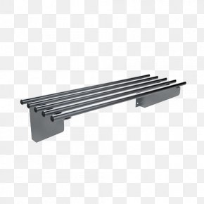 Pipe Shelf Brackets - Stainless Steel Alloy 20 Metal Manufacturing PNG
