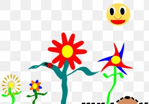 Flower - Floral Design Drawing Garden Flower Illustration PNG