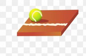 Cartoon Sports Equipment - Tennis Sports Equipment PNG